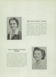 Page 13, 1946 Edition, Jamestown High School - Red and Green Yearbook (Jamestown, NY) online yearbook collection