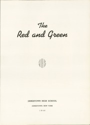 Page 7, 1948 Edition, Jamestown High School - Red and Green Yearbook (Jamestown, NY) online yearbook collection