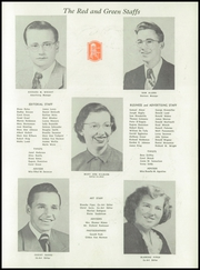 Page 11, 1950 Edition, Jamestown High School - Red and Green Yearbook (Jamestown, NY) online yearbook collection