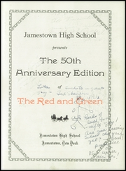 Page 7, 1950 Edition, Jamestown High School - Red and Green Yearbook (Jamestown, NY) online yearbook collection