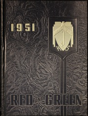 1951 Edition, Jamestown High School - Red and Green Yearbook (Jamestown, NY)
