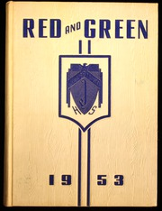 1953 Edition, Jamestown High School - Red and Green Yearbook (Jamestown, NY)