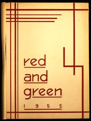 1955 Edition, Jamestown High School - Red and Green Yearbook (Jamestown, NY)