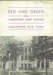 Page 5, 1956 Edition, Jamestown High School - Red and Green Yearbook (Jamestown, NY) online yearbook collection