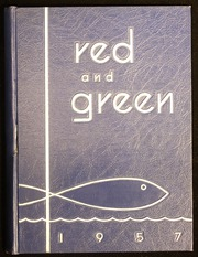 1957 Edition, Jamestown High School - Red and Green Yearbook (Jamestown, NY)