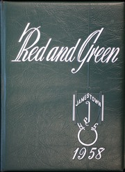1958 Edition, Jamestown High School - Red and Green Yearbook (Jamestown, NY)