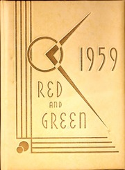 1959 Edition, Jamestown High School - Red and Green Yearbook (Jamestown, NY)