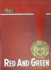 1965 Edition, Jamestown High School - Red and Green Yearbook (Jamestown, NY)