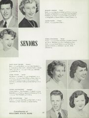 Stillman Valley High School - Cardinal Yearbook (Stillman Valley, IL) online yearbook collection, 1952 Edition, Page 16