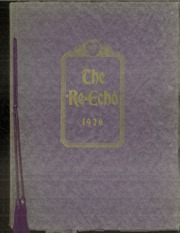 Page 1, 1926 Edition, Rushville High School - Re Echo Yearbook (Rushville, IL) online yearbook collection