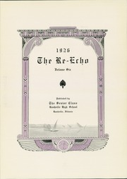 Page 7, 1926 Edition, Rushville High School - Re Echo Yearbook (Rushville, IL) online yearbook collection