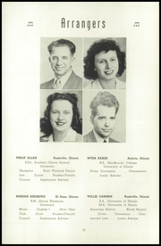 Page 14, 1944 Edition, Rushville High School - Re Echo Yearbook (Rushville, IL) online yearbook collection