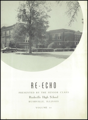 Page 7, 1951 Edition, Rushville High School - Re Echo Yearbook (Rushville, IL) online yearbook collection