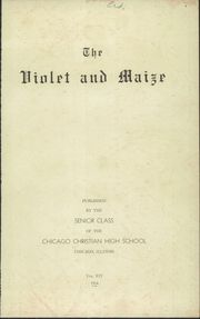 Page 3, 1934 Edition, Chicago Christian High School - Violet and Maize Yearbook (Palos Heights, IL) online yearbook collection