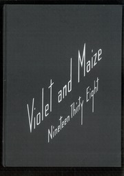 Page 1, 1938 Edition, Chicago Christian High School - Violet and Maize Yearbook (Palos Heights, IL) online yearbook collection