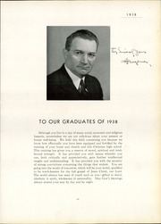 Page 17, 1938 Edition, Chicago Christian High School - Violet and Maize Yearbook (Palos Heights, IL) online yearbook collection