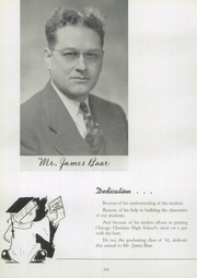 Page 10, 1942 Edition, Chicago Christian High School - Violet and Maize Yearbook (Palos Heights, IL) online yearbook collection