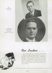 Page 12, 1942 Edition, Chicago Christian High School - Violet and Maize Yearbook (Palos Heights, IL) online yearbook collection