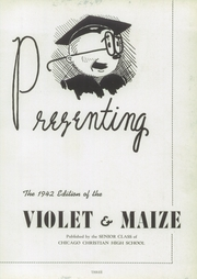 Page 7, 1942 Edition, Chicago Christian High School - Violet and Maize Yearbook (Palos Heights, IL) online yearbook collection