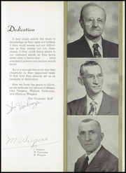 Page 11, 1955 Edition, Chicago Christian High School - Violet and Maize Yearbook (Palos Heights, IL) online yearbook collection