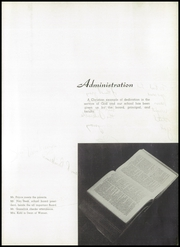 Page 13, 1955 Edition, Chicago Christian High School - Violet and Maize Yearbook (Palos Heights, IL) online yearbook collection
