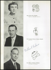 Page 14, 1955 Edition, Chicago Christian High School - Violet and Maize Yearbook (Palos Heights, IL) online yearbook collection