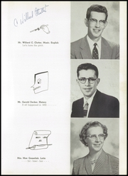 Page 15, 1955 Edition, Chicago Christian High School - Violet and Maize Yearbook (Palos Heights, IL) online yearbook collection