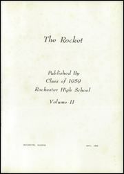 Page 5, 1959 Edition, Rochester High School - Rocket Yearbook (Rochester, IL) online yearbook collection