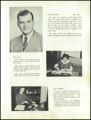 Page 13, 1956 Edition, Warrensburg Latham High School - Cardinal Yearbook (Warrensburg, IL) online yearbook collection