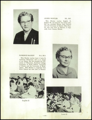 Page 14, 1956 Edition, Warrensburg Latham High School - Cardinal Yearbook (Warrensburg, IL) online yearbook collection
