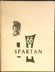 North Greene High School - Spartan Yearbook (White Hall, IL) online yearbook collection, 1966 Edition, Page 1