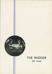 Page 5, 1940 Edition, Dwight Township High School - Rudder Yearbook (Dwight, IL) online yearbook collection