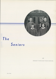 Page 7, 1940 Edition, Dwight Township High School - Rudder Yearbook (Dwight, IL) online yearbook collection