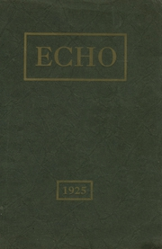 1925 Edition, Staunton High School - Echo Yearbook (Staunton, IL)