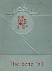 1954 Edition, Staunton High School - Echo Yearbook (Staunton, IL)