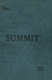 Page 1, 1923 Edition, Chester High School - Summit Yearbook (Chester, IL) online yearbook collection