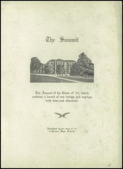 Page 5, 1923 Edition, Chester High School - Summit Yearbook (Chester, IL) online yearbook collection