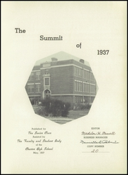 Page 5, 1937 Edition, Chester High School - Summit Yearbook (Chester, IL) online yearbook collection