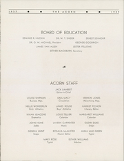 Page 12, 1937 Edition, Oakwood High School - Acorn Yearbook (Fithian, IL) online yearbook collection