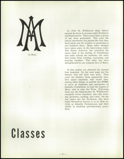 Page 10, 1953 Edition, St Willibrord High School - Foursquare Yearbook (Chicago, IL) online yearbook collection