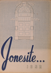 Jones Metropolitan High School - Jonesite Yearbook (Chicago, IL) online yearbook collection, 1952 Edition, Page 1