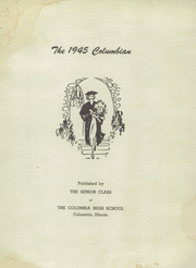 Page 3, 1945 Edition, Columbia High School - Columbian Yearbook (Columbia, IL) online yearbook collection
