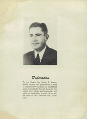 Page 5, 1945 Edition, Columbia High School - Columbian Yearbook (Columbia, IL) online yearbook collection