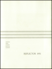 Page 5, 1951 Edition, Paxton High School - Reflector Yearbook (Paxton, IL) online yearbook collection