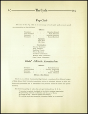 Page 43, 1940 Edition, Polo High School - Cycle Yearbook (Polo, IL) online yearbook collection