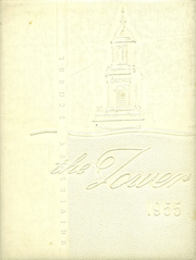 University High School - Tower Yearbook (Carbondale, IL) online yearbook collection, 1955 Edition, Page 1