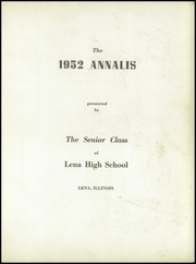 Page 7, 1952 Edition, Lena Winslow High School - Win Nel Yearbook (Lena, IL) online yearbook collection