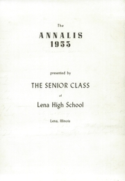 Page 7, 1953 Edition, Lena Winslow High School - Win Nel Yearbook (Lena, IL) online yearbook collection