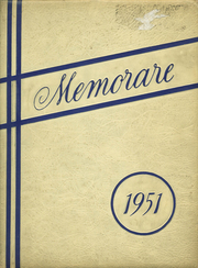 Page 1, 1951 Edition, Marquette High School - Memorare Yearbook (Ottawa, IL) online yearbook collection