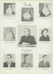 Page 11, 1951 Edition, Marquette High School - Memorare Yearbook (Ottawa, IL) online yearbook collection